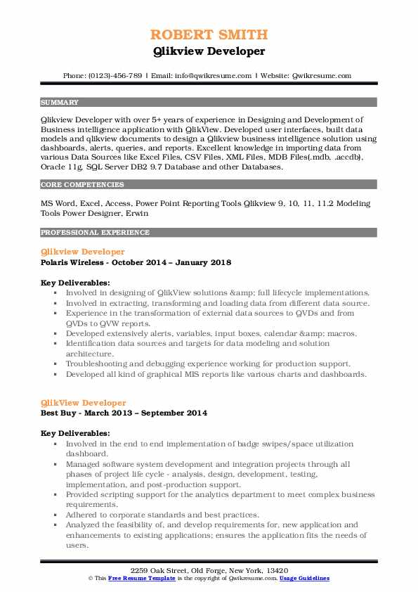 qlikview developer resume samples qwikresume consultant pdf accounting summary of Resume Qlikview Consultant Resume