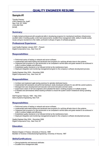 quality engineer resume examples objective sample image sailing for college living entry Resume Quality Engineer Resume Objective