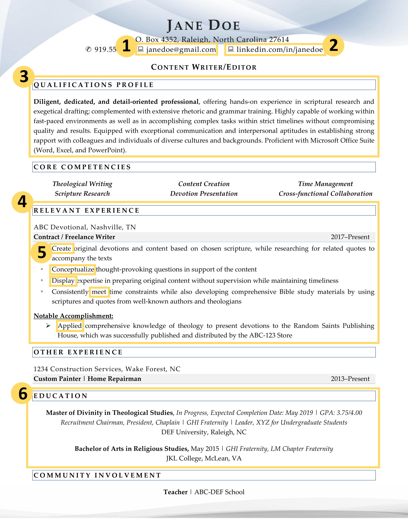 recent college graduate resume factors that make it excellent examples example labeled Resume Recent Graduate Resume Examples