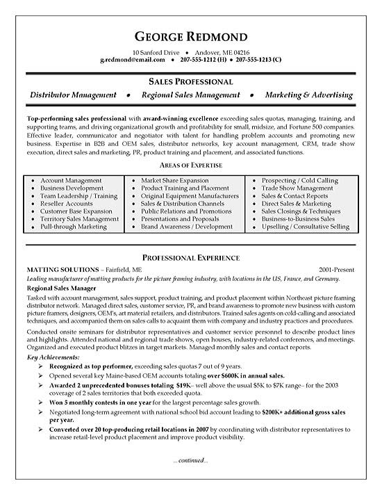 regional resume example manager exsa22a respiratory therapist examples experience Resume Regional Manager Resume