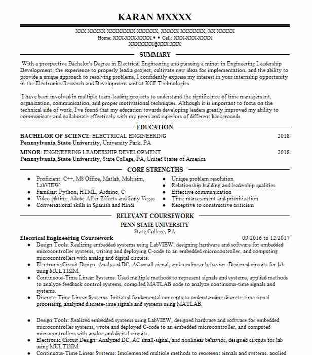 relevant coursework resume example farmingdale state college new related making great of Resume Related Coursework Resume