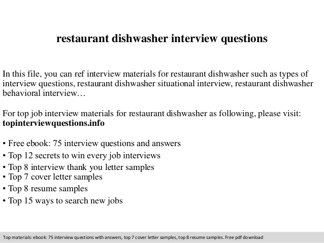 restaurant dishwasher interview questions expeditor resume sample entry level legal free Resume Restaurant Expeditor Resume Sample