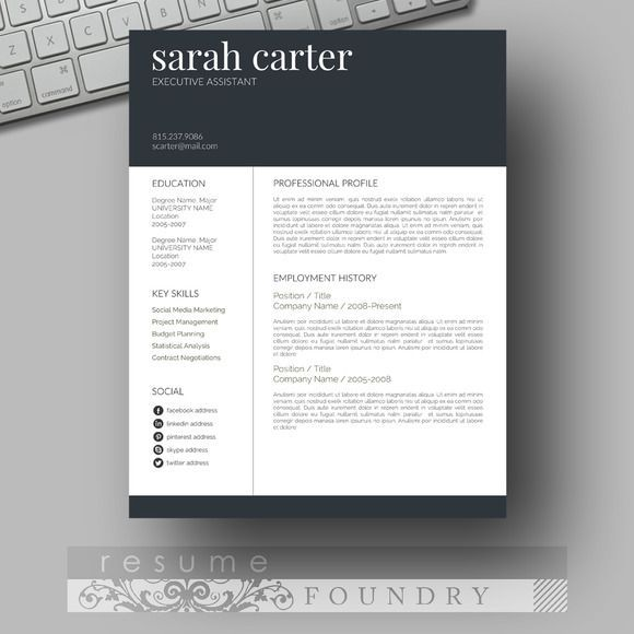 resume design look professional with an easy to use template instant open in resumes tn Resume Professional Eye Catching Resume
