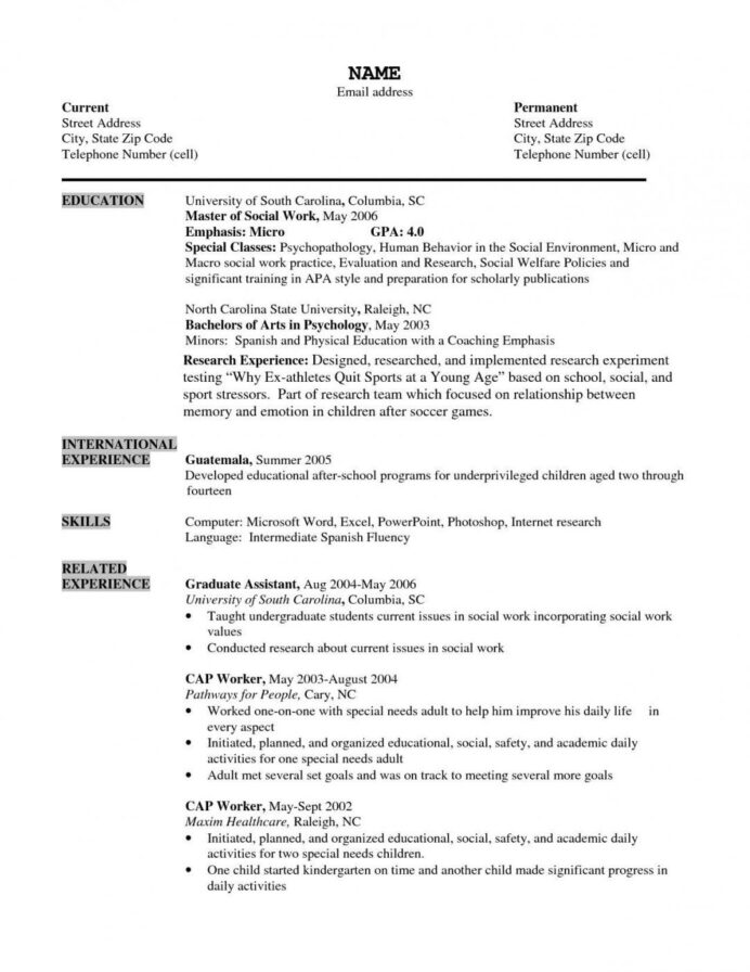 resume examples for older workers cover letter free printable pointers mature some Resume Resume Pointers For Mature Workers