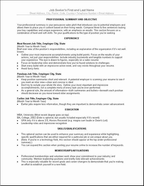 resume examples for older workers inspirational best job search good words pointers Resume Resume Pointers For Mature Workers