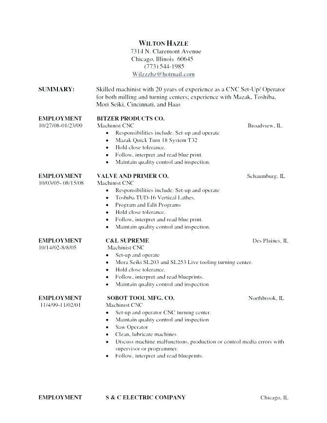 resume for cnc machinist nist jobs inspiration template with objective engi engineering Resume Cnc Machinist Resume Indeed