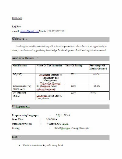 resume format for freshers engineers of computer science dental vantage dinh vo fresher Resume Resume Computer Science Fresher