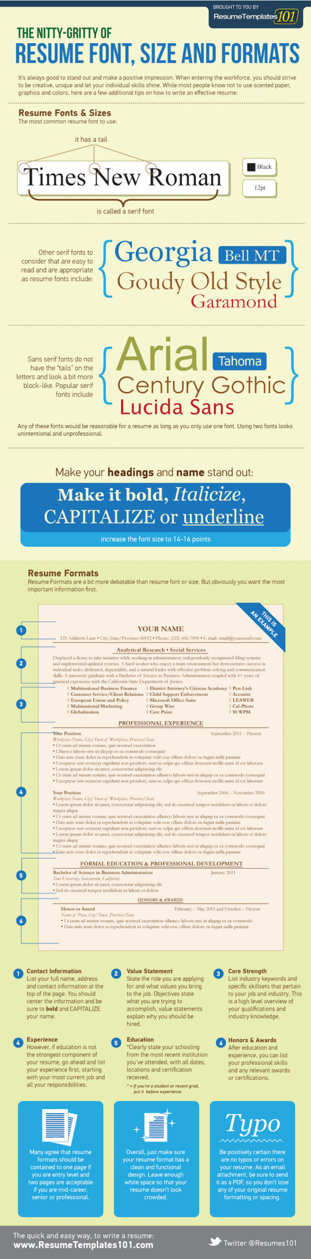 resume format tips you need to know in sample formats included guidelines infographic Resume Resume Format Guidelines