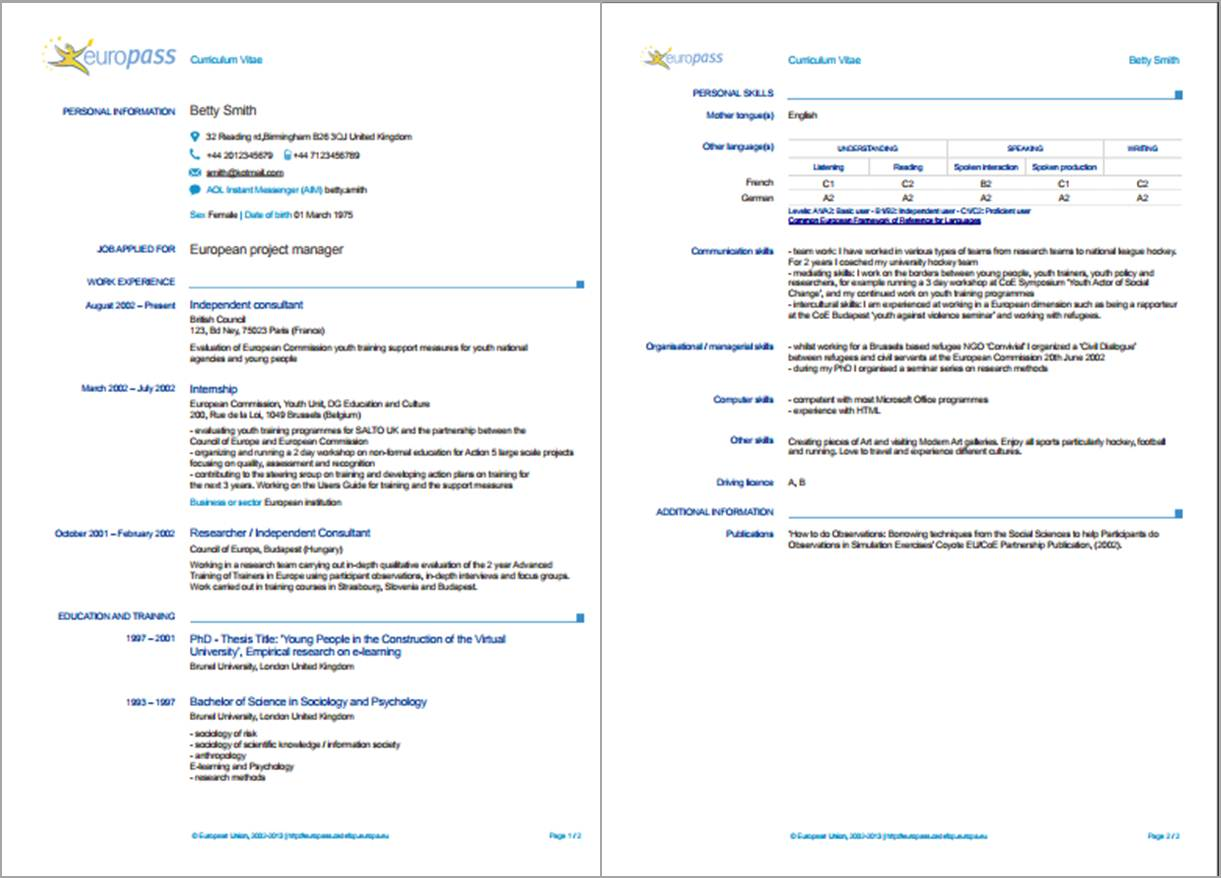 resume formats in various countries do they differ japanese example sample of europass cv Resume Japanese Resume Example