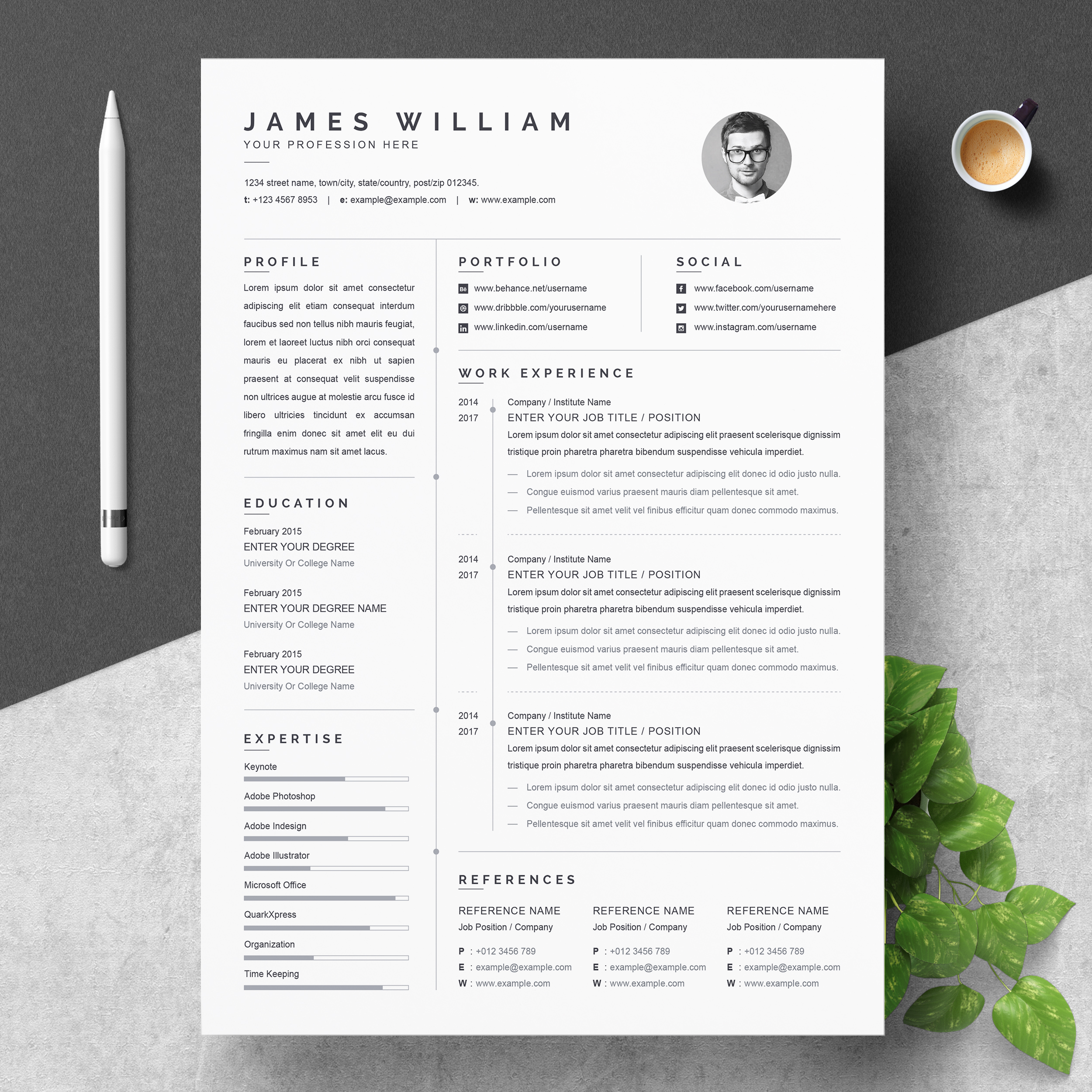 resume foundation one template free sample for business analyst banking babysitting Resume One Page Resume Template Free