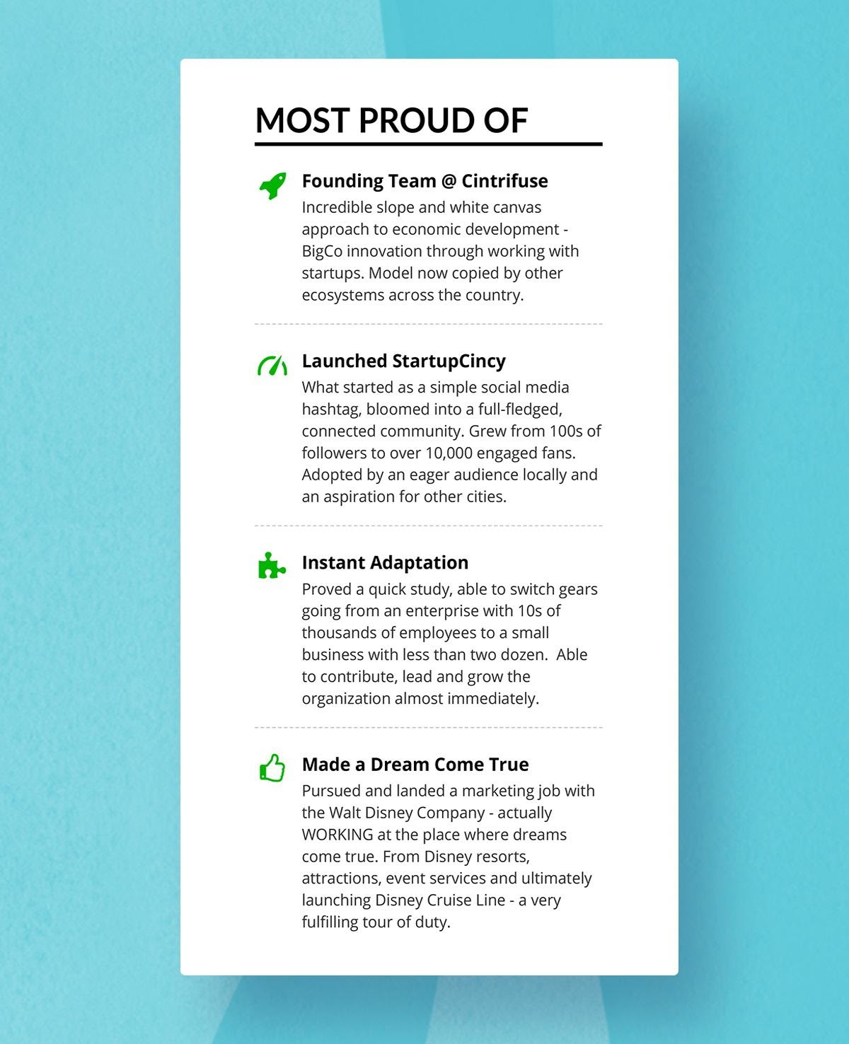 resume headings to stand out in with examples professional headers image7 executive Resume Professional Resume Headers