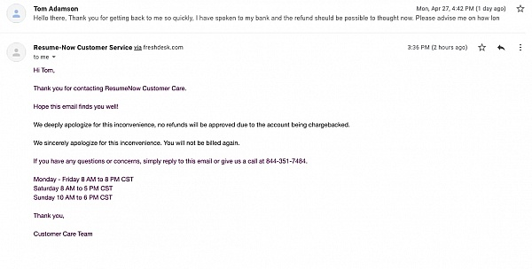resume now reviews of sitejabber bld customer service number thumbnail normal include Resume Bld Resume Customer Service Number