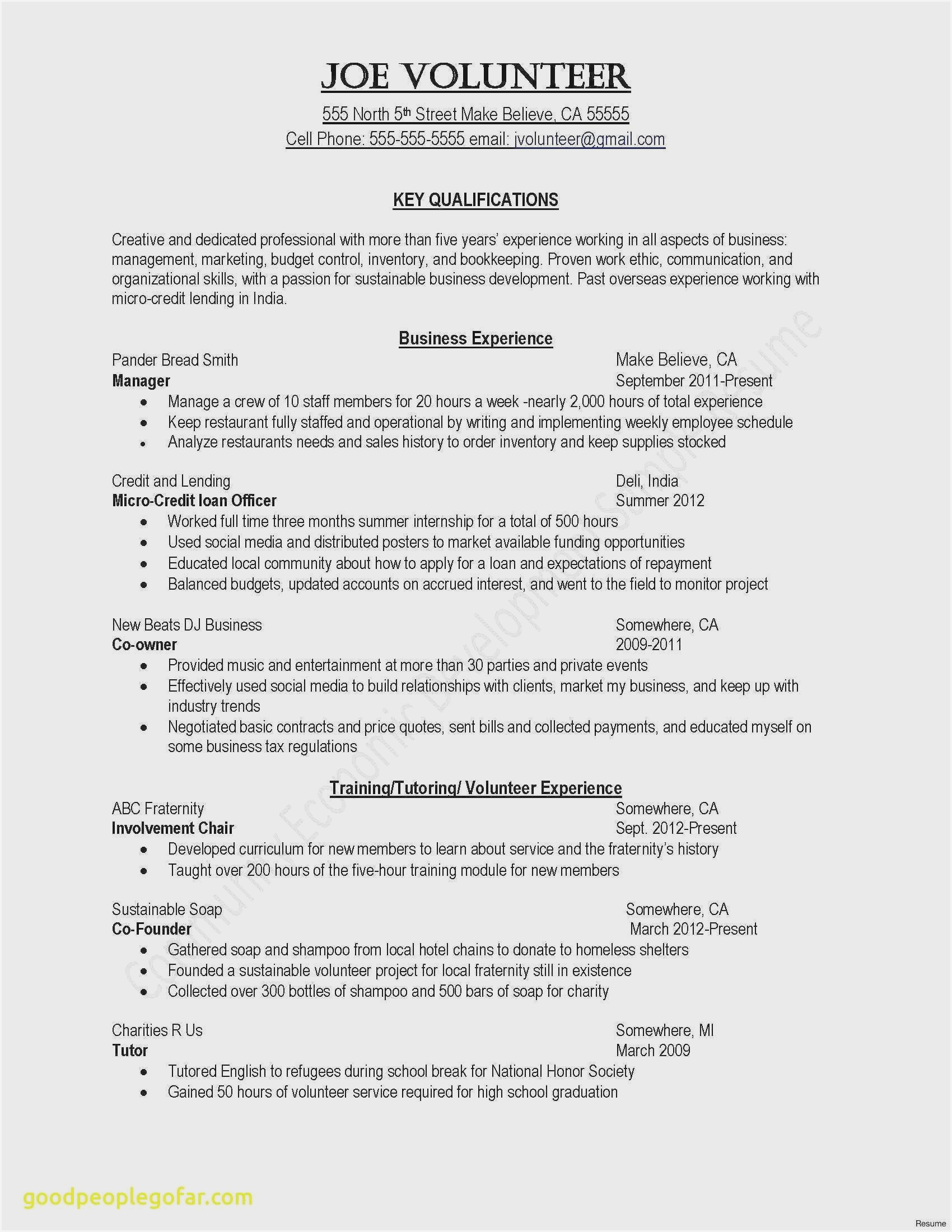 resume samples for leadership skills sample experience brief background summary entry Resume Leadership Experience Resume Sample