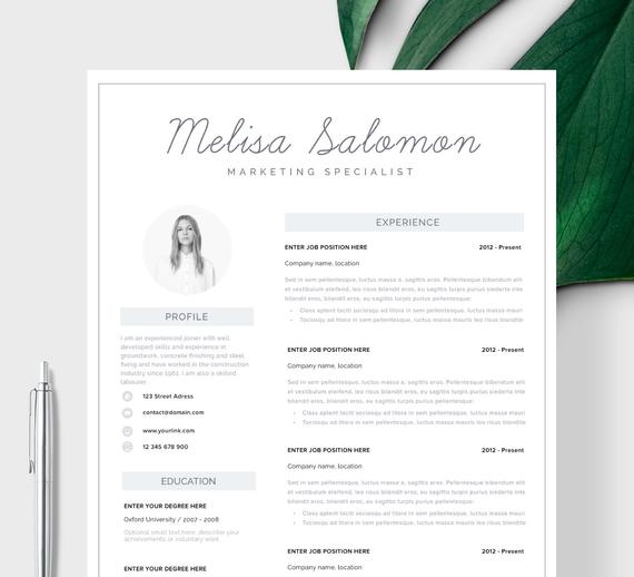 resume template cv design curriculum etsy melbourne il 570xn 4dyy genius account login Resume Melbourne Resume Template