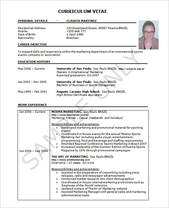 resume template word excel pdf free premium templates sample experience great photo in Resume Sample Resume Excel Experience