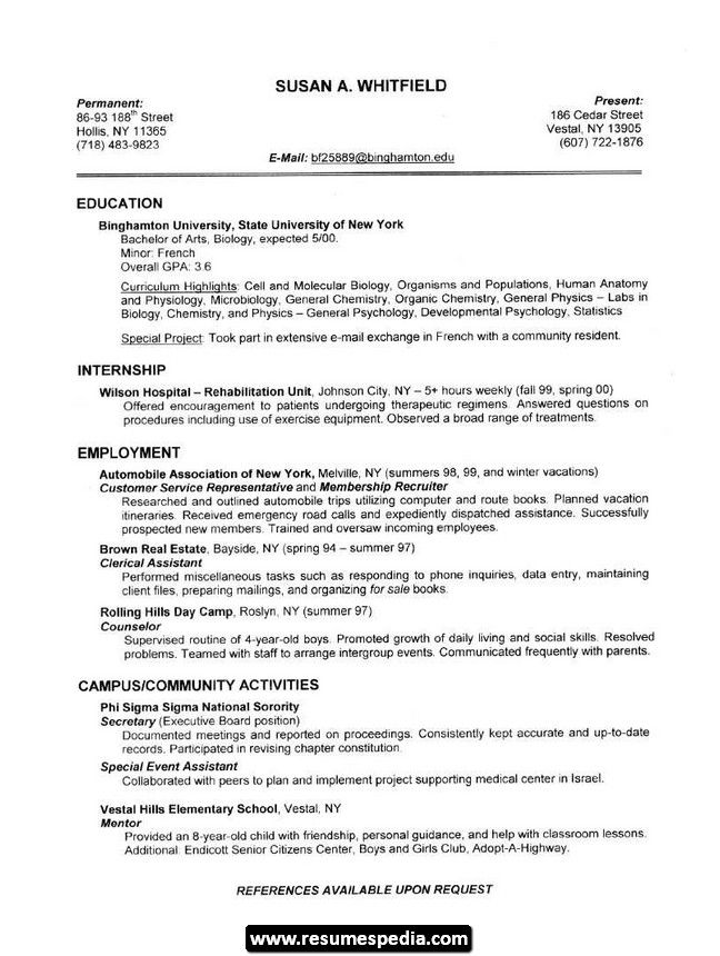resumespedia student resume template job good examples sample for beautician android Resume Resume Sample For Beautician Job