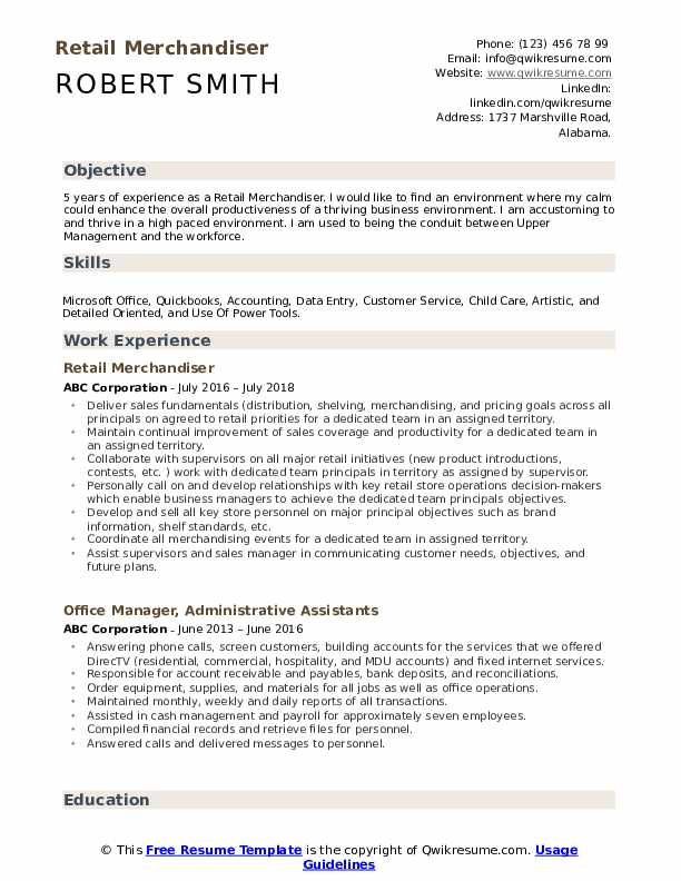 retail merchandiser resume samples qwikresume entry level fashion merchandising pdf Resume Entry Level Fashion Merchandising Resume