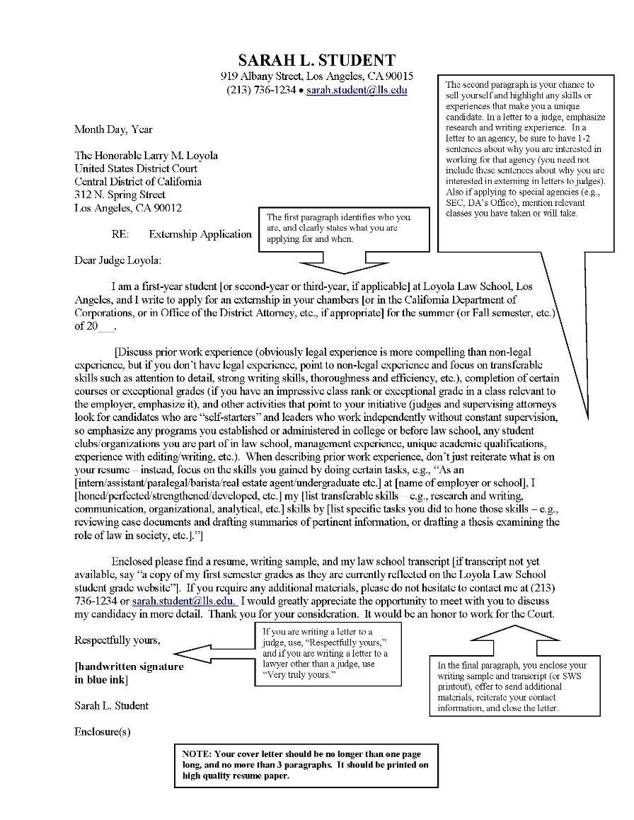 sample judicial field placements cover letter loyola marymount university ministry resume Resume Sample Ministry Resume And Cover Letter