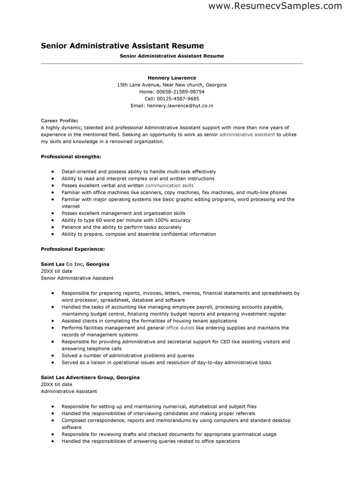 sample objective on resume for administrative assistant tipss und vorlagen good Resume Good Resume Objectives For Office Positions