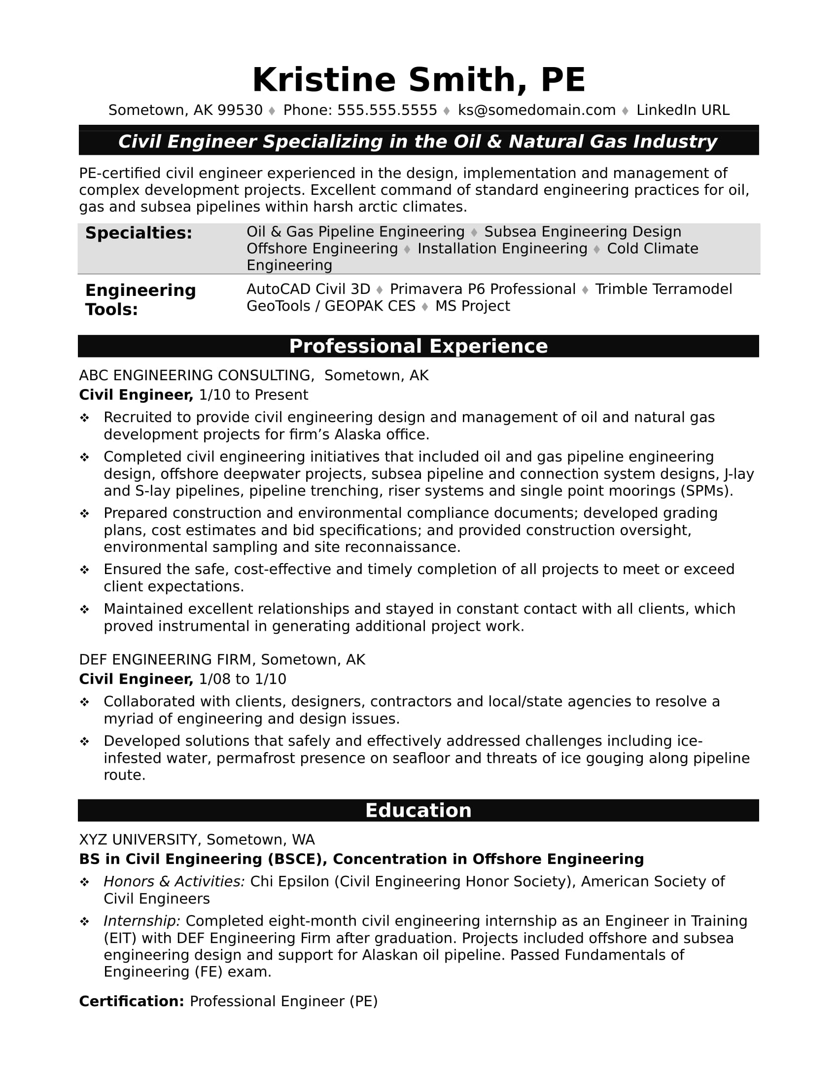 sample resume for midlevel civil engineer monster writing exam bloomberg market concepts Resume Resume Writing For Exam