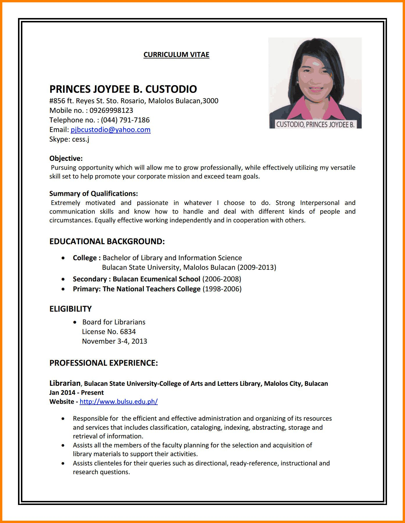 sample resumes first time job seekers attractive to write cv for part resume examples Resume Resume Objective For First Time Job Seekers