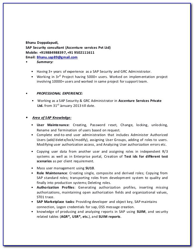 sap security resumes years experience vincegray2014 administrator resume cover letter Resume Sap Security Administrator Resume