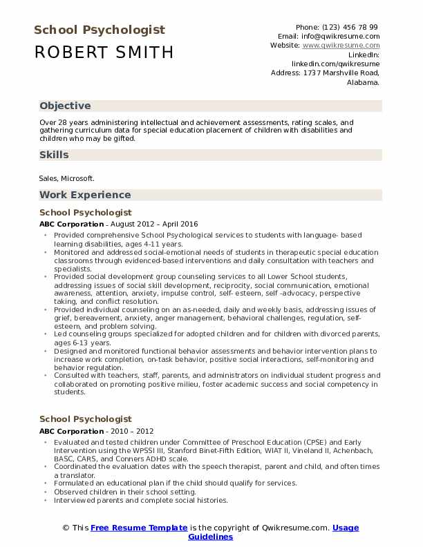 school psychologist resume samples qwikresume pdf review writing group employment sample Resume School Psychologist Resume