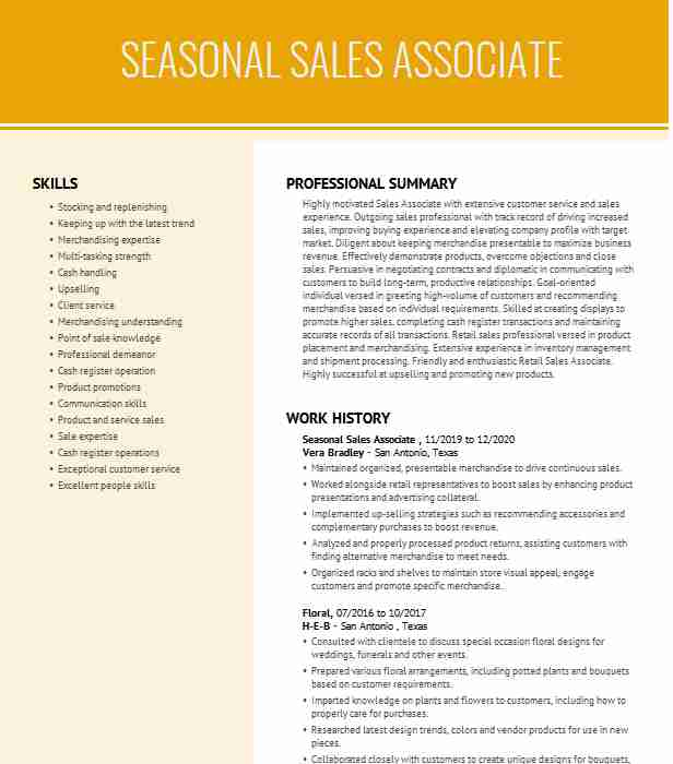 seasonal associate resume example urban outfitters new for work entry level system Resume Resume For Seasonal Work