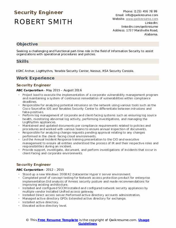 security engineer resume samples qwikresume endpoint pdf cover letter for internship Resume Endpoint Security Engineer Resume