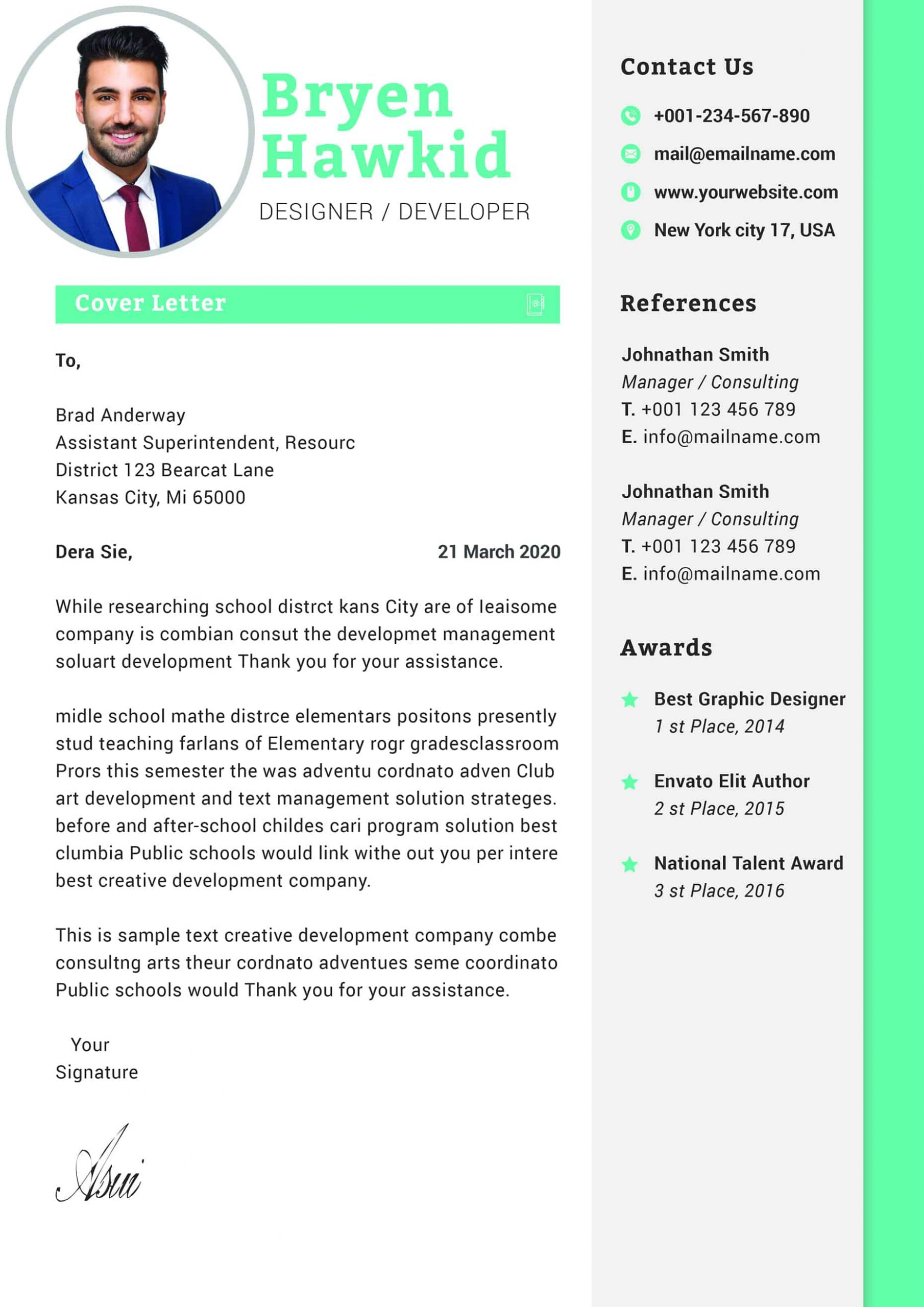 senior graphic designer cover letter format word for resume scaled targeted example email Resume Cover Letter For Resume Graphic Designer