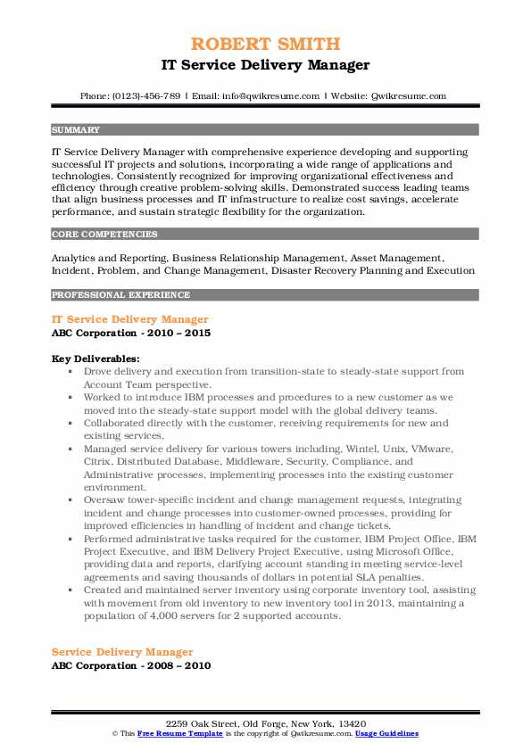 service delivery manager resume samples qwikresume head sample pdf asha ojt for Resume Delivery Head Resume Sample