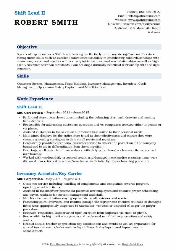 shift lead resume samples qwikresume retail leader pdf title examples for any job Resume Retail Shift Leader Resume