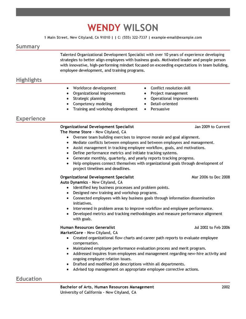 shift leader resume example resumes livecareer retail management emphasis difference Resume Retail Shift Leader Resume