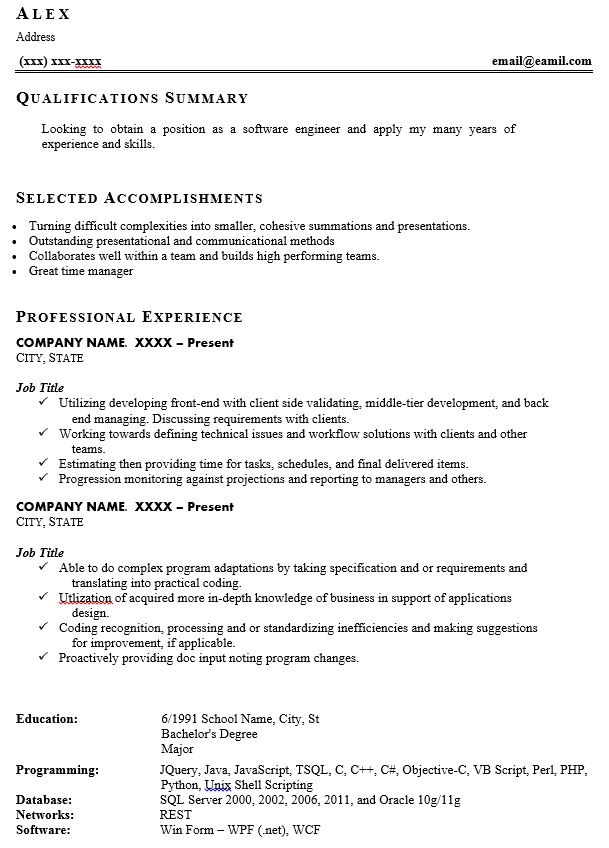 signs of resume and we fixed it examples printable example samples for bancassurance Resume Bad Resume Examples Printable