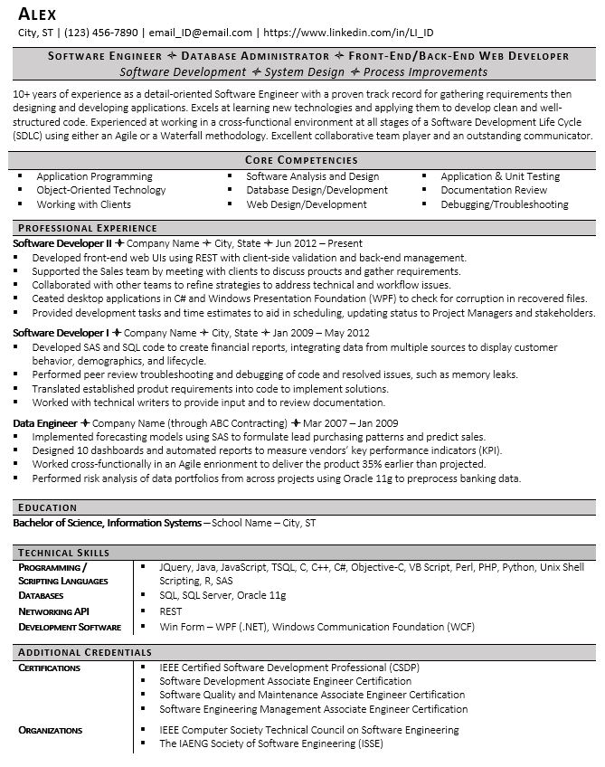 signs of resume and we fixed it examples printable software developer template profile Resume Bad Resume Examples Printable