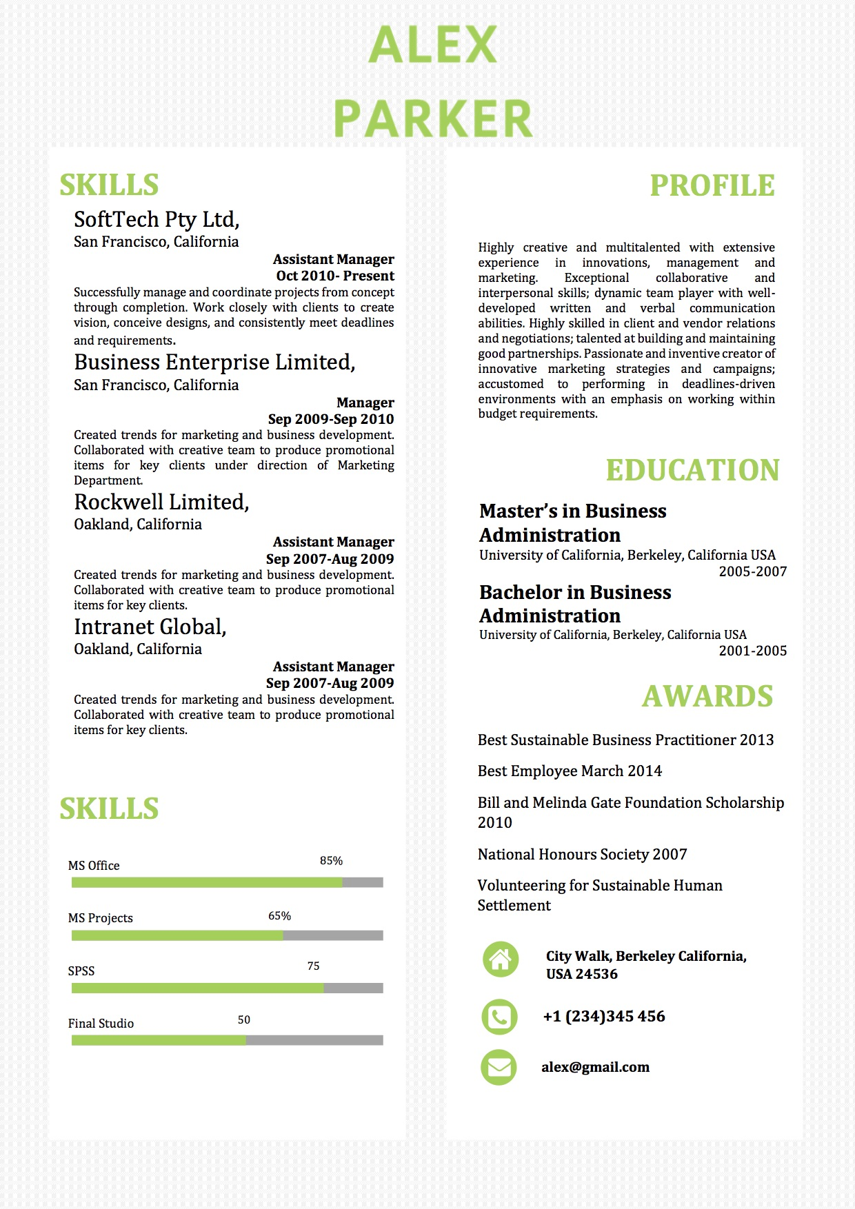 simple two columns word resume template vista resume40 core competencies examples Resume Resume Template Columns