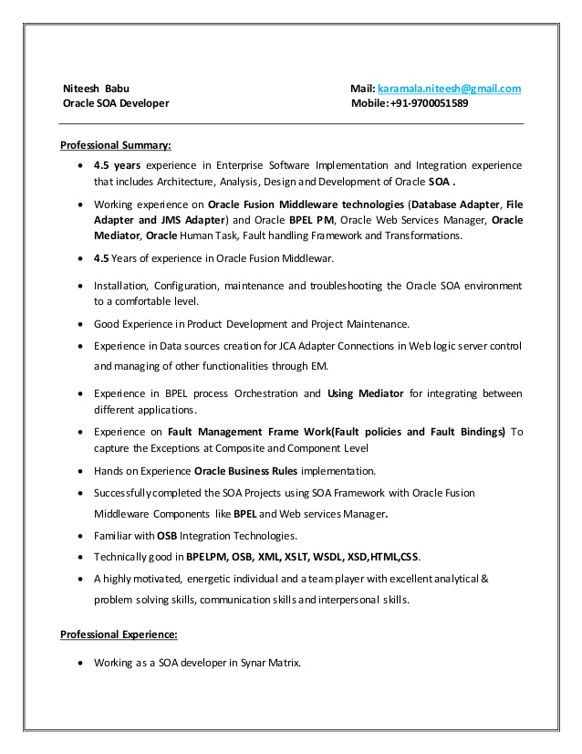 soa resume soap web services developer typical layout cprw writers computer hardware Resume Soap Web Services Developer Resume