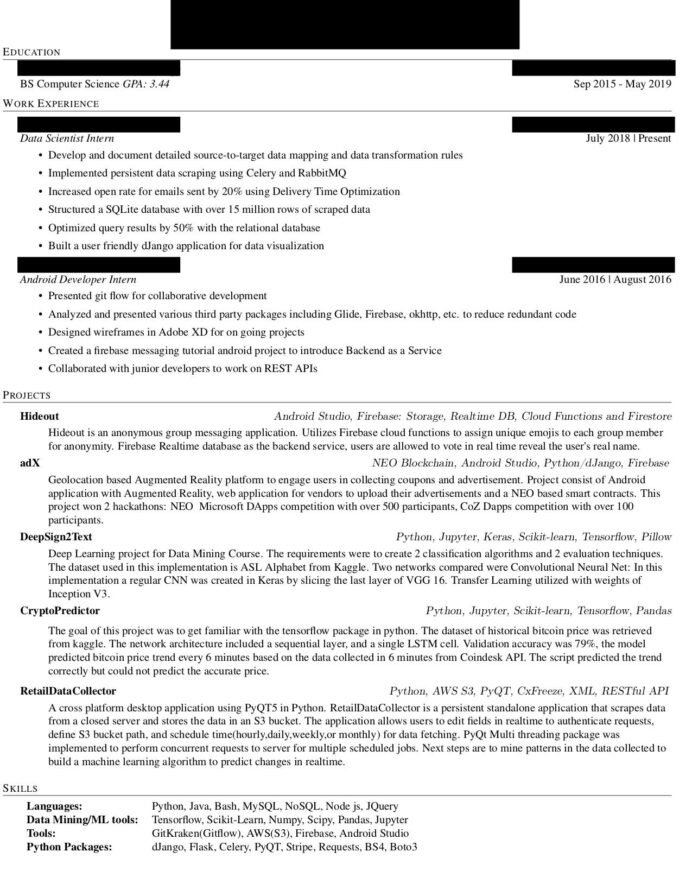 software developer resume graduating in may never hear back from companies apply to feel Resume Junior Software Developer Resume Reddit