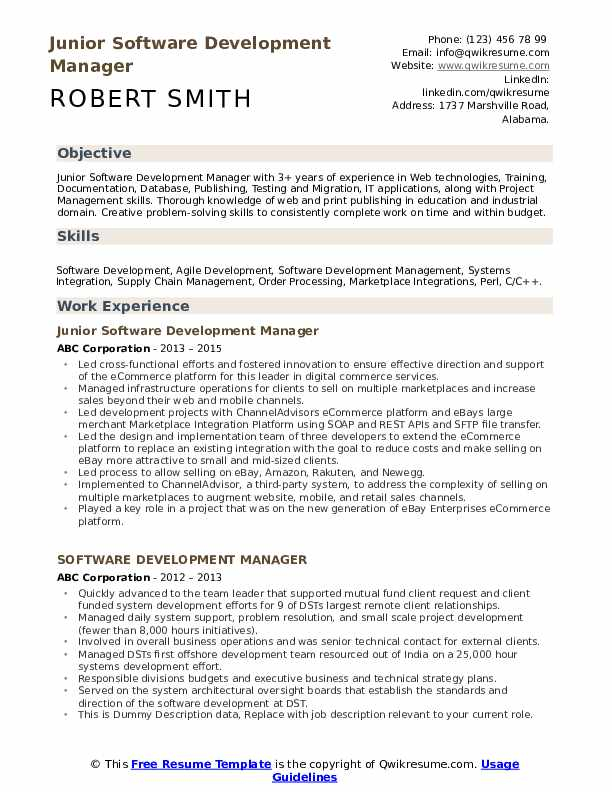 software development manager resume samples qwikresume examples pdf fillable template Resume Software Development Manager Resume Examples 2020