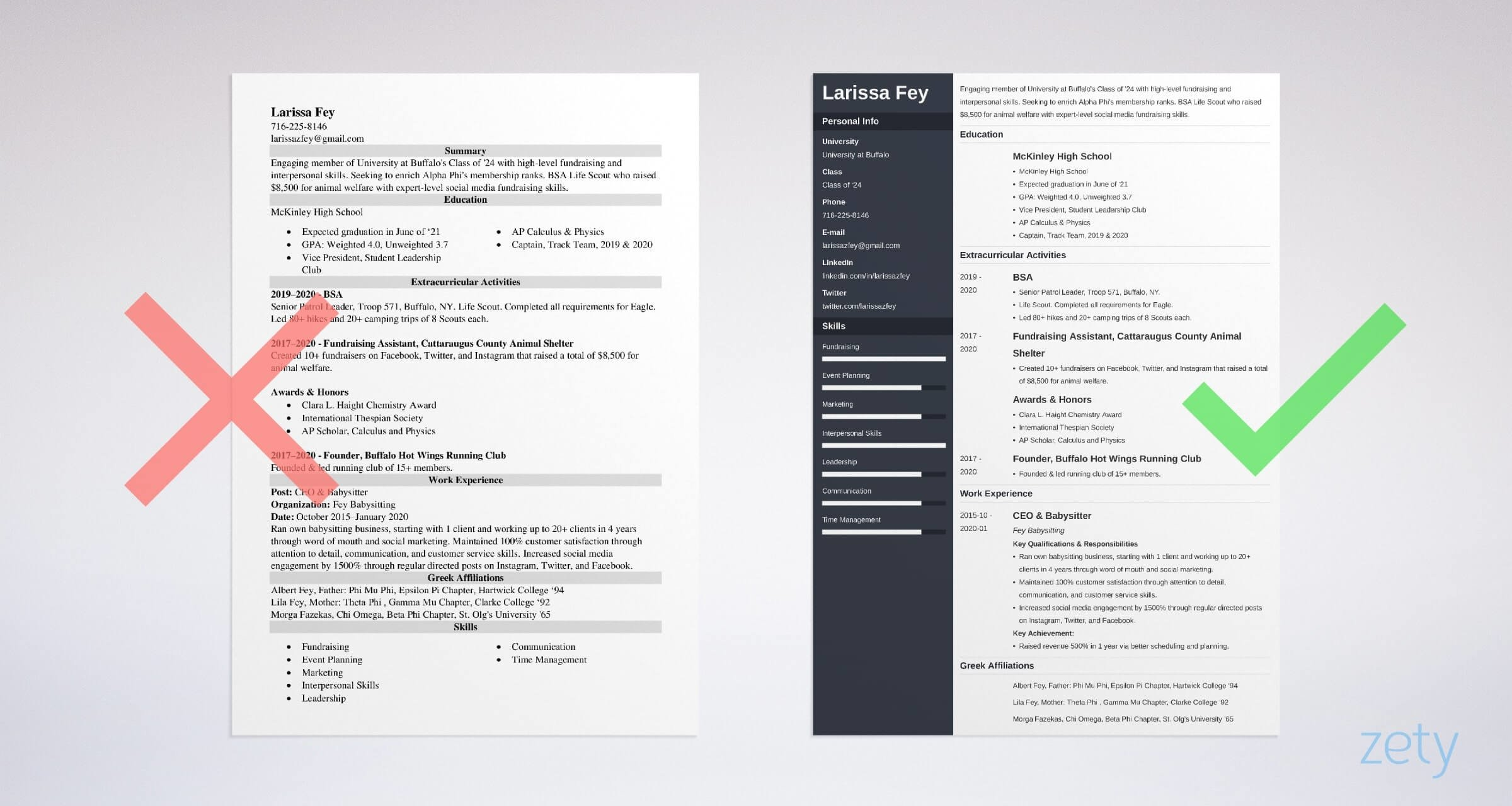 sorority resume template free examples and builder recruitment example fire lieutenant Resume Sorority Recruitment Resume