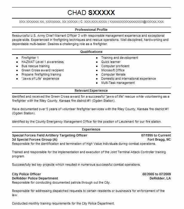 special forces officer resume example army west teacher aide examples financial Resume Special Forces Officer Resume
