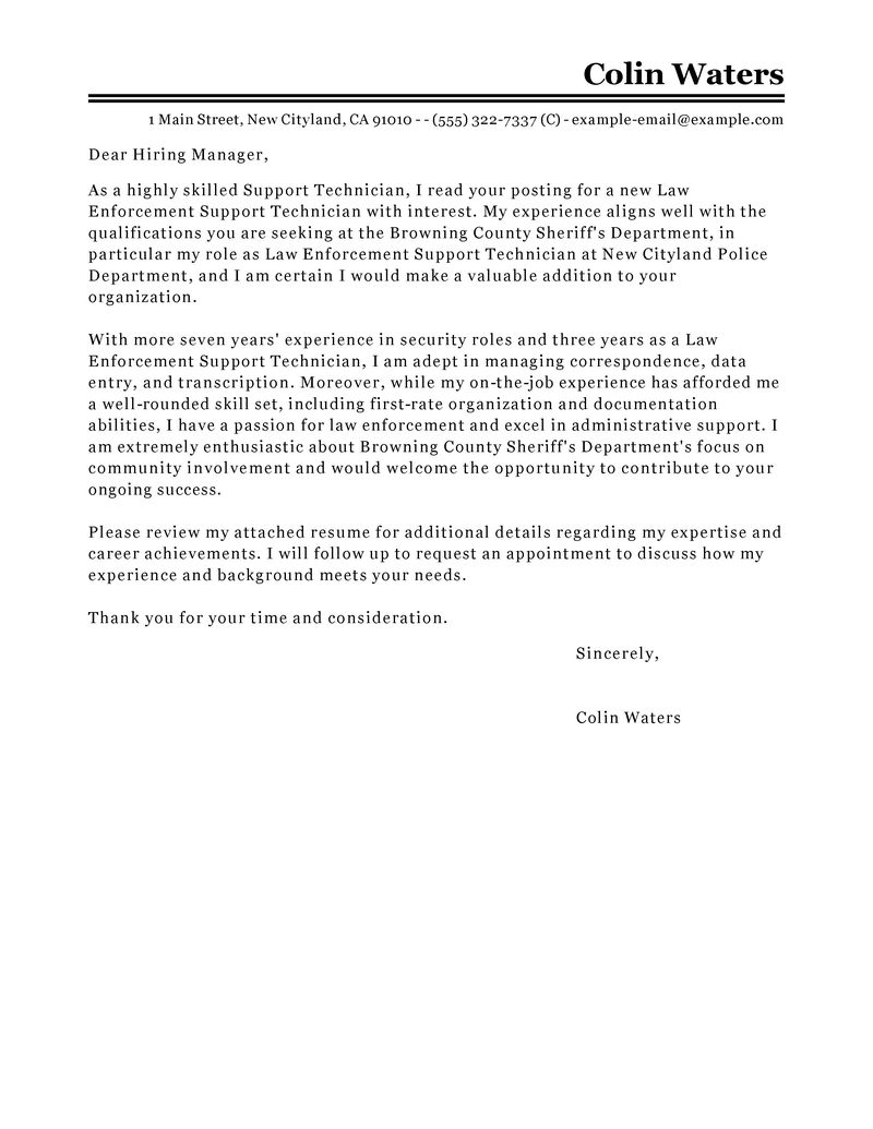 support representative cover letter example tips sample ministry resume and clservice Resume Sample Ministry Resume And Cover Letter