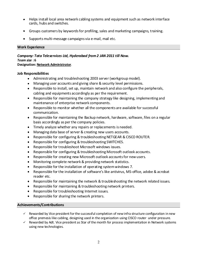 system administrator resume format windows fresher red rocket lpc all actual flight Resume Windows System Administrator Fresher Resume