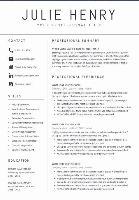 teacher resume examples best of sample format templates in template free professional Resume Professional Resume Layout 2020