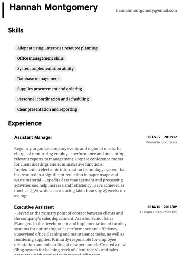team leader resume samples all experience levels lead examples administrative thumbnail Resume Team Lead Resume Examples