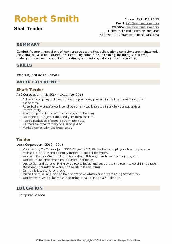 tender resume samples qwikresume executive template pdf ats compliant military police Resume Tender Executive Resume Template
