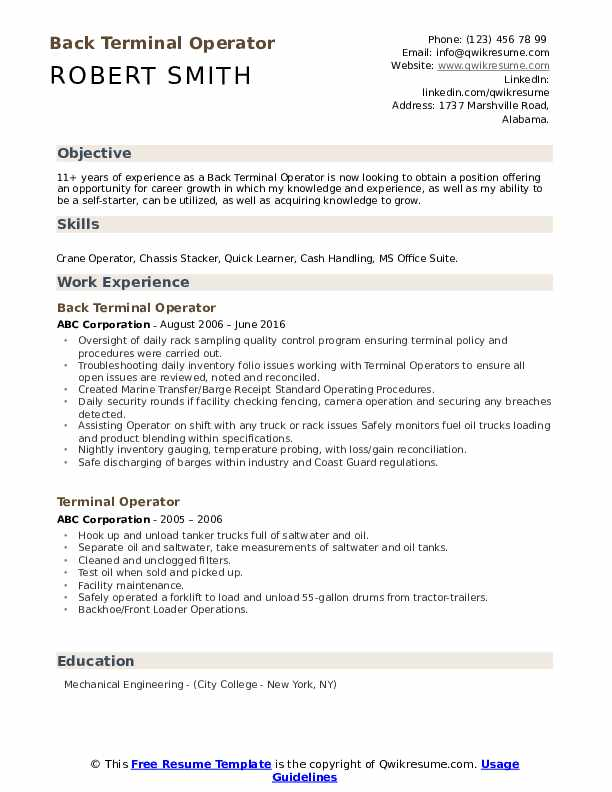 terminal operator resume samples qwikresume tank farm pdf does require photo project Resume Tank Farm Operator Resume