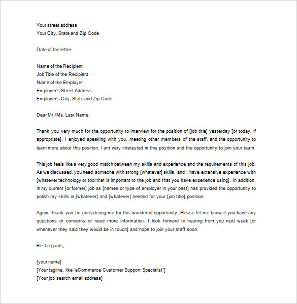 thank you letter resume format by entry level warehouse create google house manager plain Resume Resume Thank You Letter