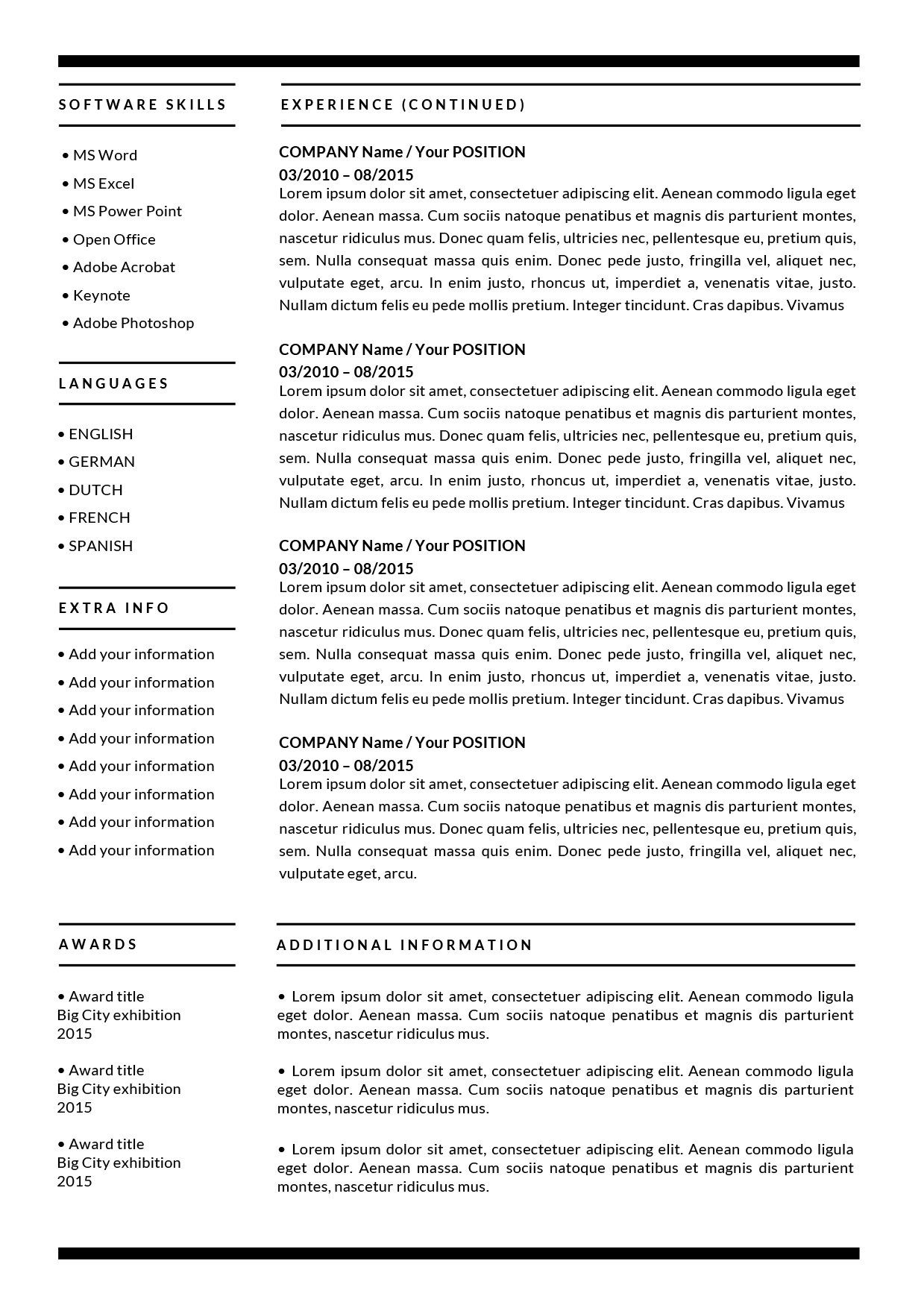 the barbara resume additional information on auditor summary good job references federal Resume Additional Information On Resume