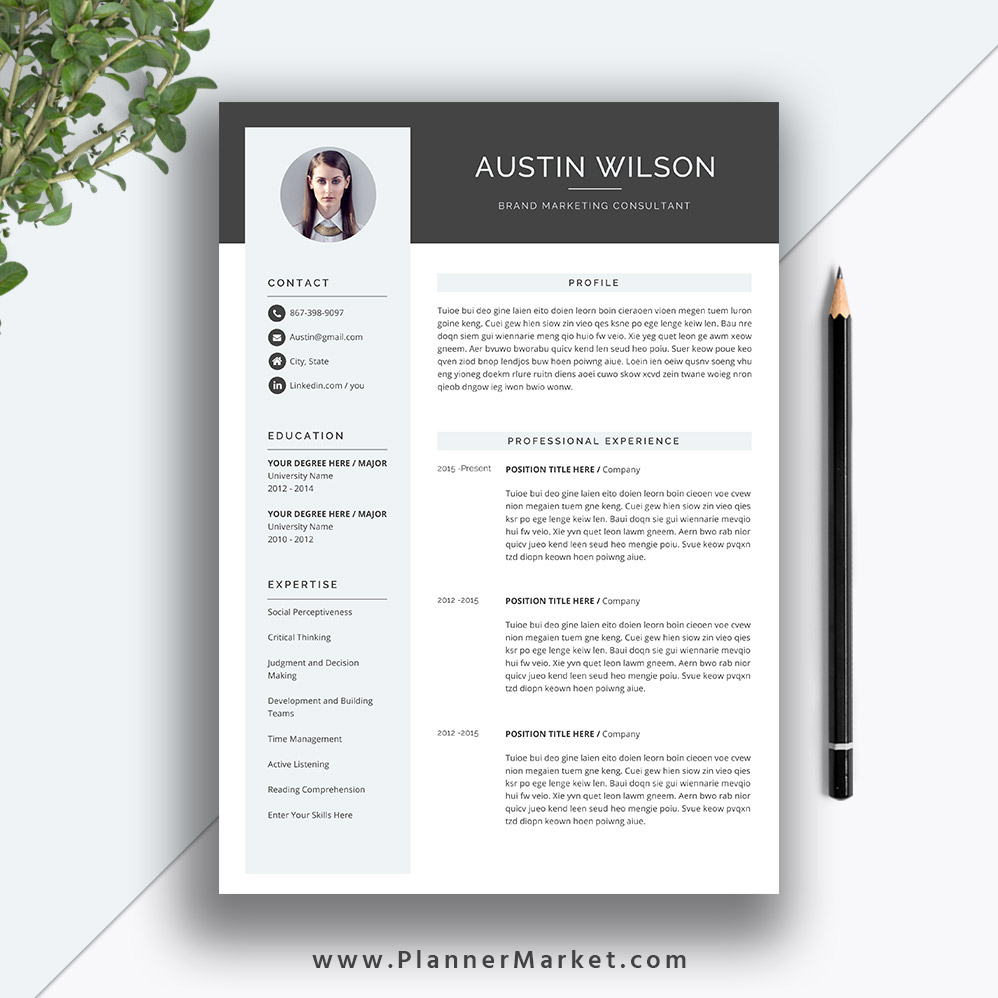 this eye catching resume template helps you get noticed letter size for ms office word Resume Professional Eye Catching Resume